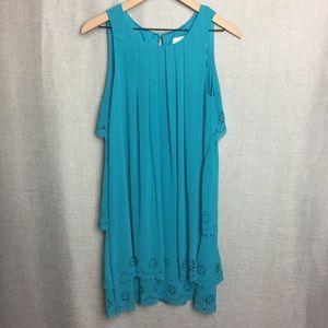 Jessica Simpson/ Sleeveless Layered Dress Sz 6